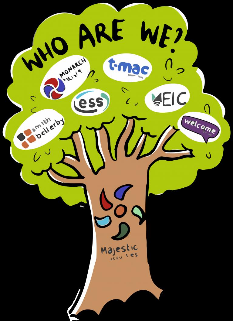 Majestic tree graphic
